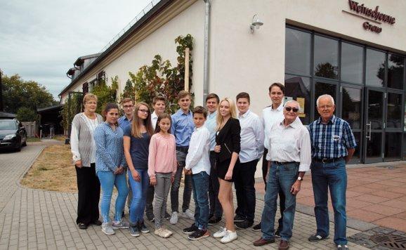 Unsere Schülerfirma ist die Gubener Apfelwein Schüler GmbH.